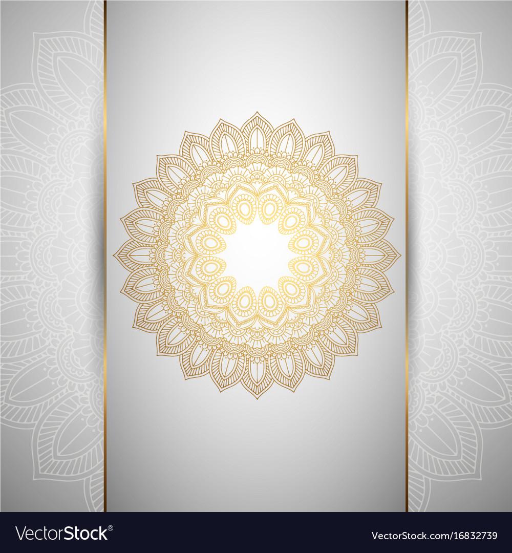 Decorative mandala background