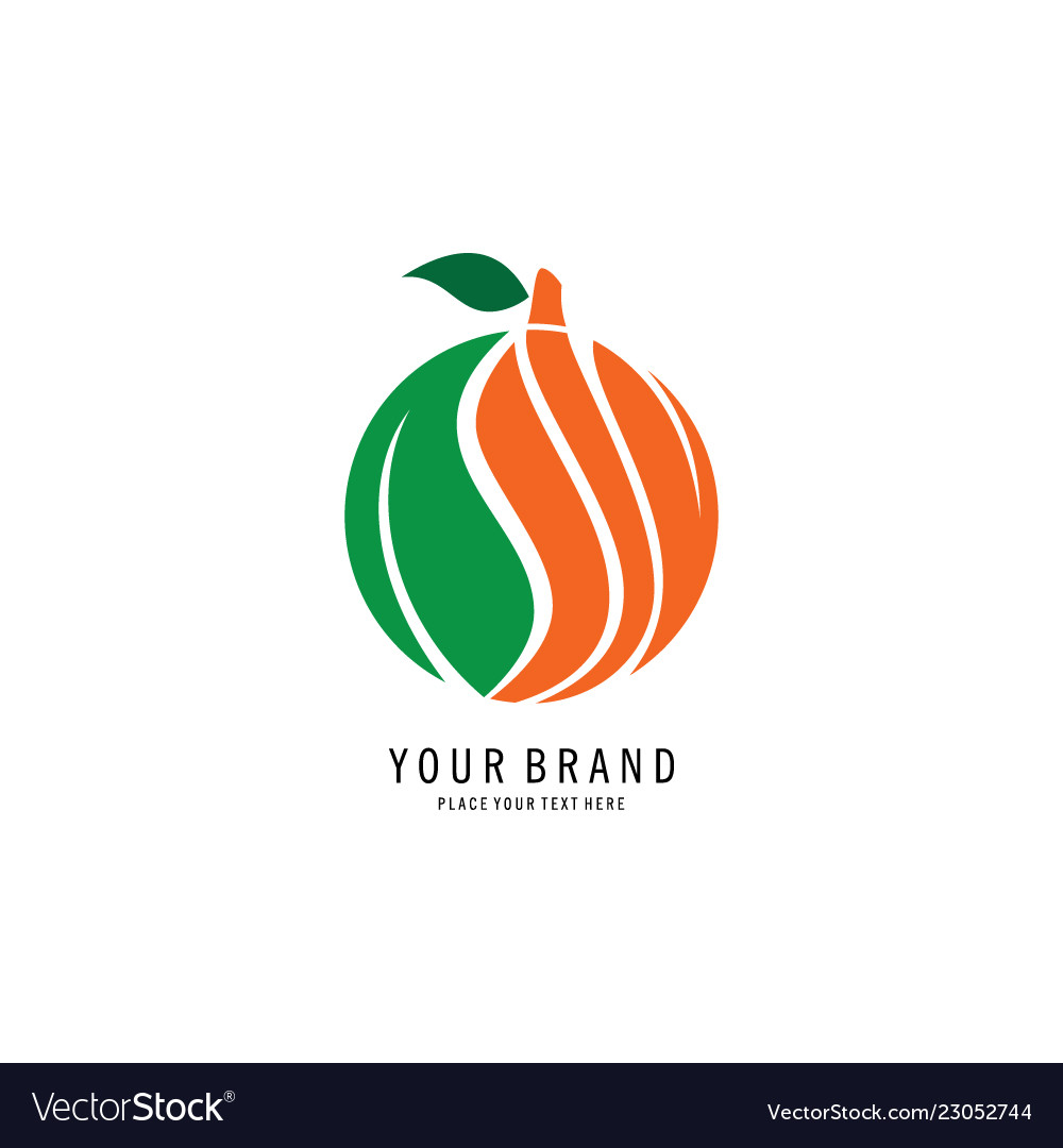 Fruit abstract logo
