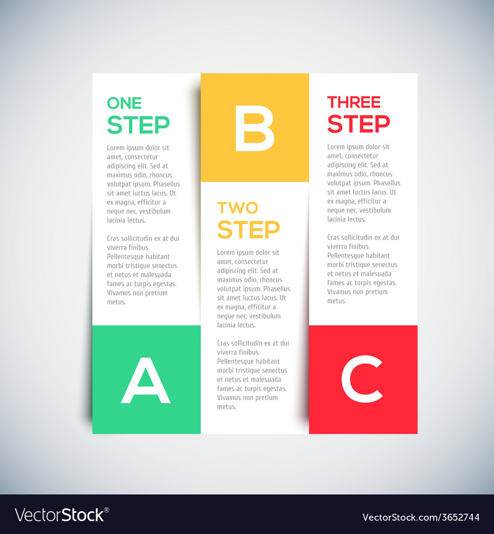 Modern 3D infographics Design Layout with shadow