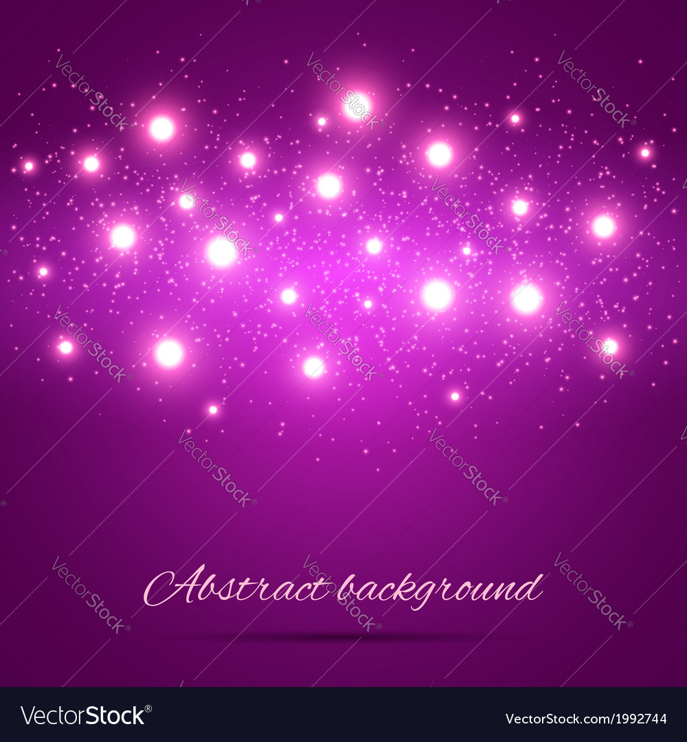 Purple Background with Lights