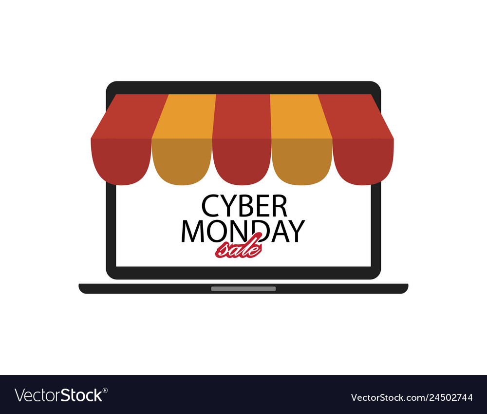 Shopping online on cyber monday sale business