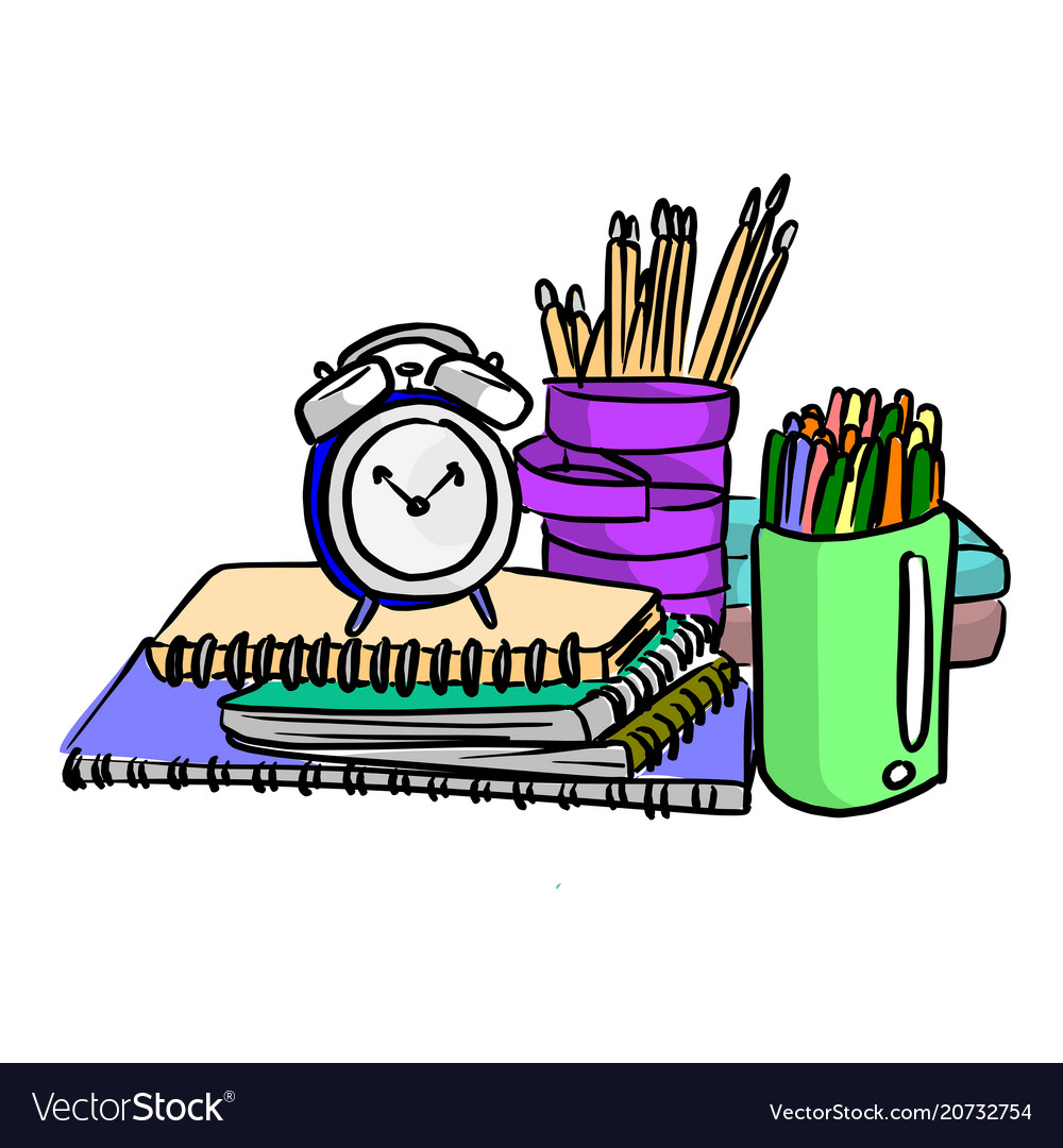 Items for students using in the school