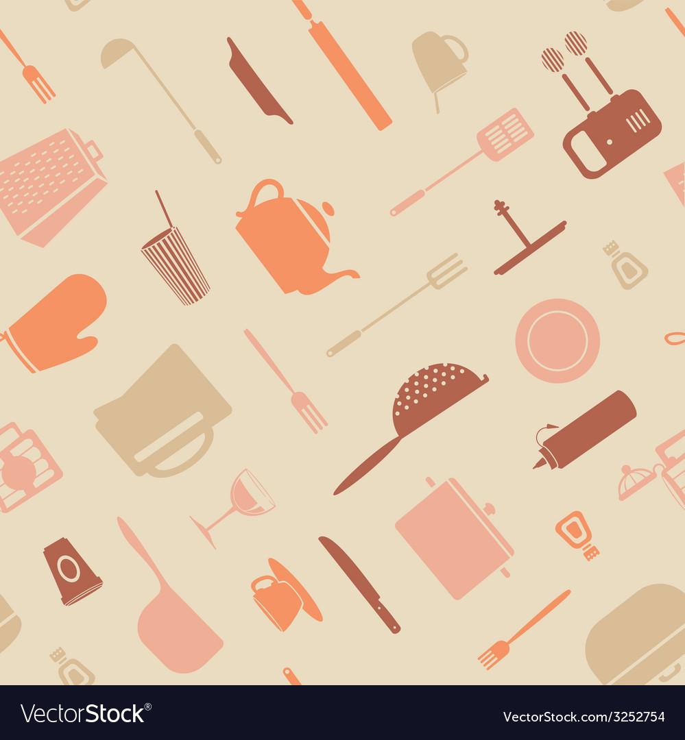 Symbol kitchen pattern