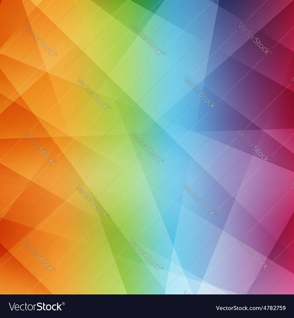 Abstract Rainbow Background Modern Pattern Vector Image