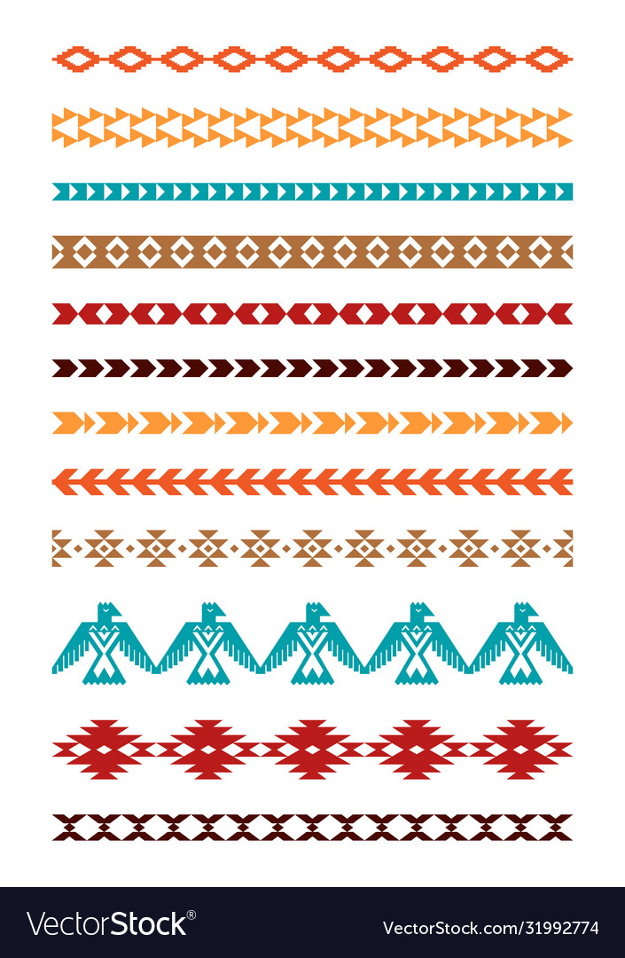 Aztec tribal borders