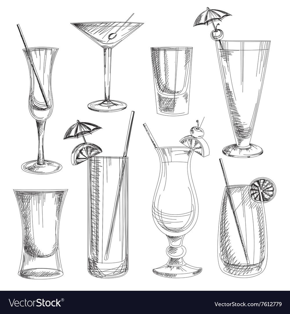Doodle cocktails
