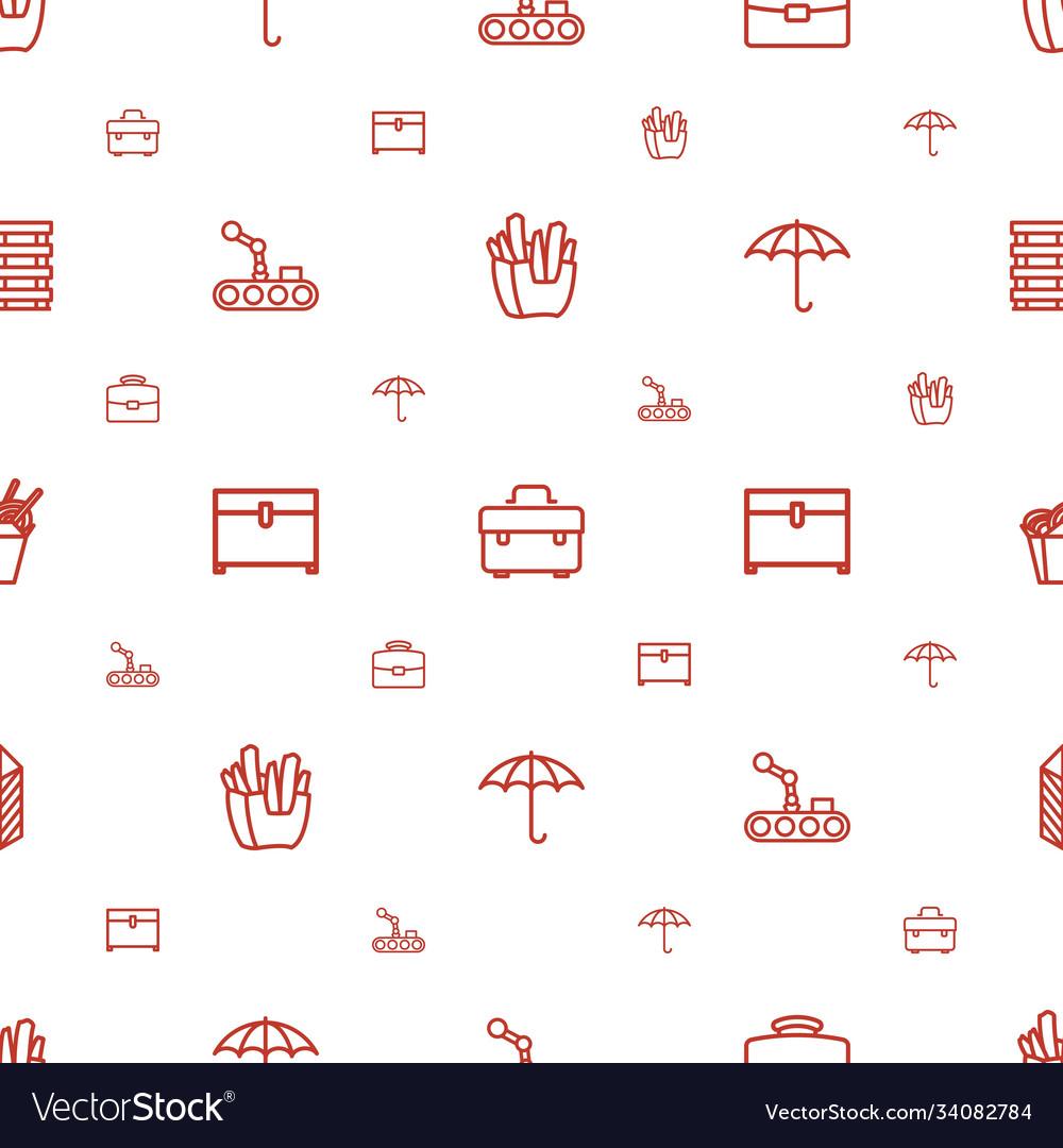 Box icons pattern seamless white background