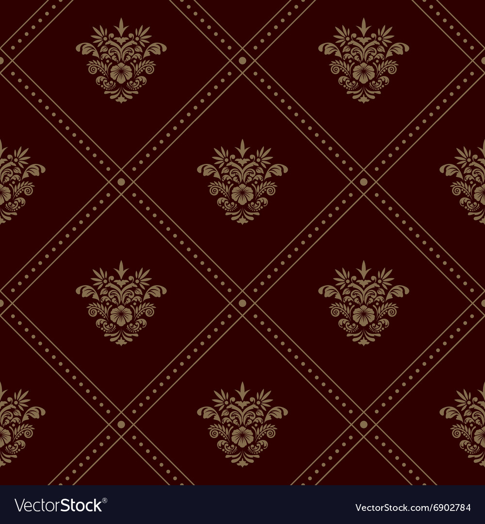 Royal seamless wallpaper vector