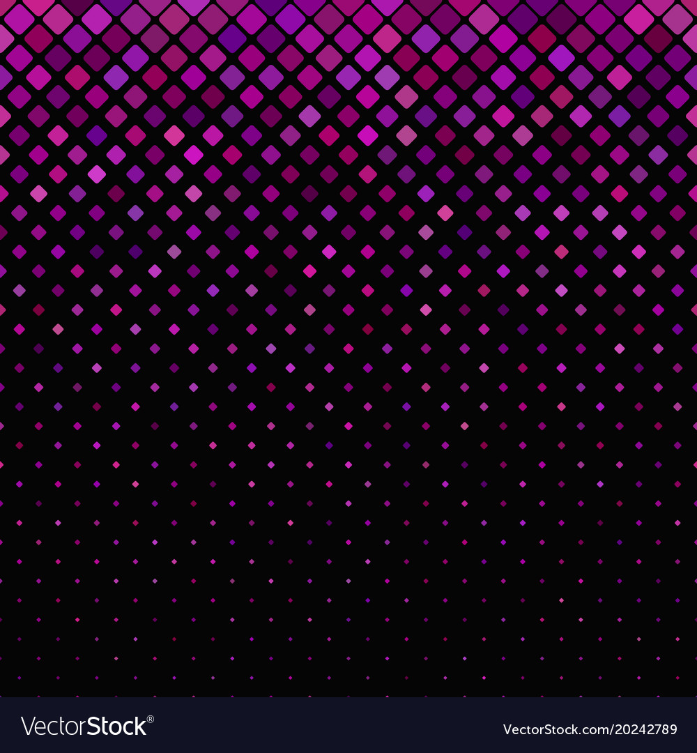 Abstractal diagonal square pattern background vector image