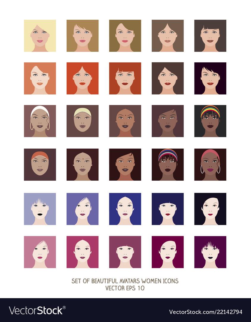 Avatars women icons-04