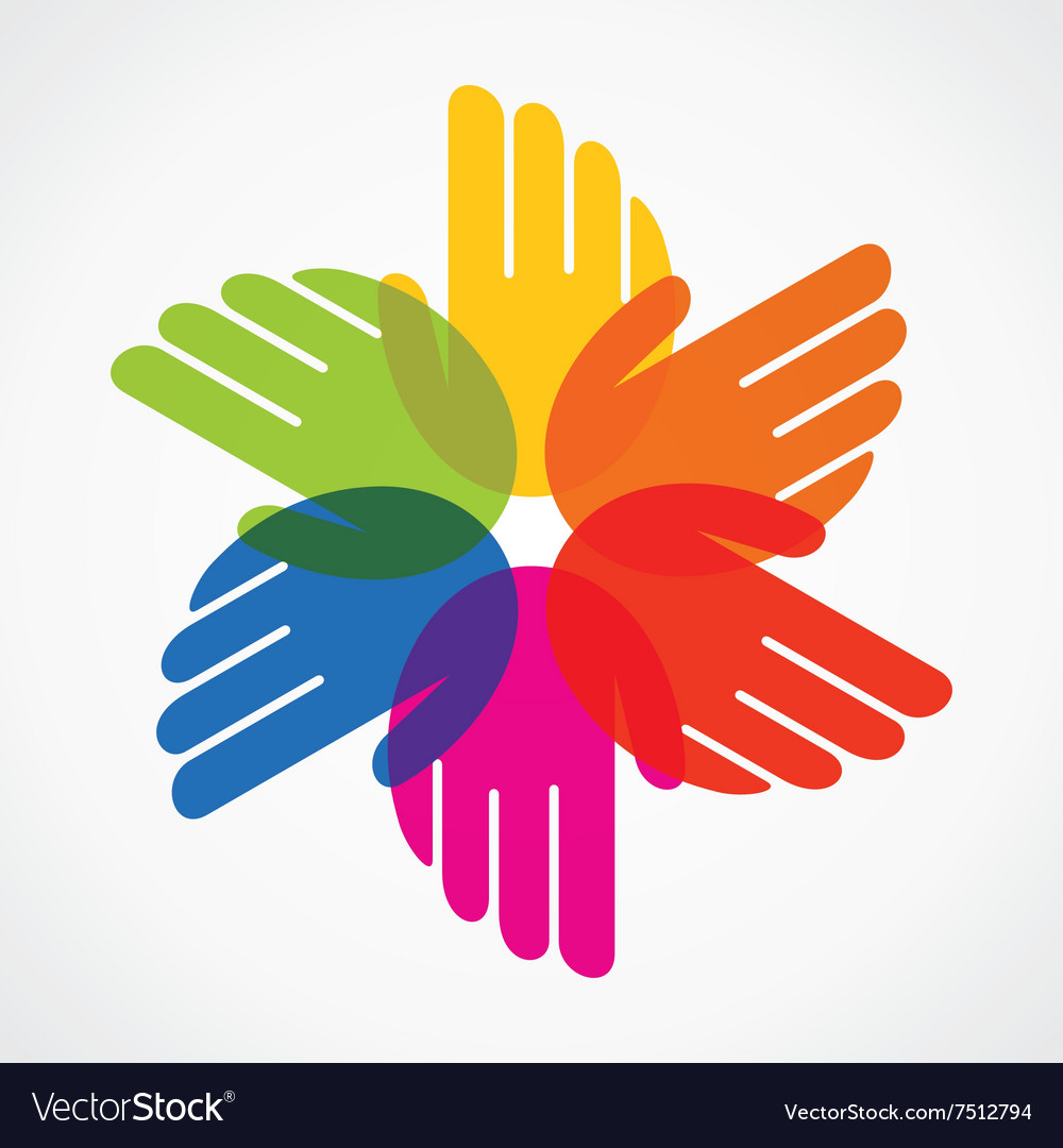 Colorful hand make flower royalty free vector image colorful hand make flower vector image izmirmasajfo