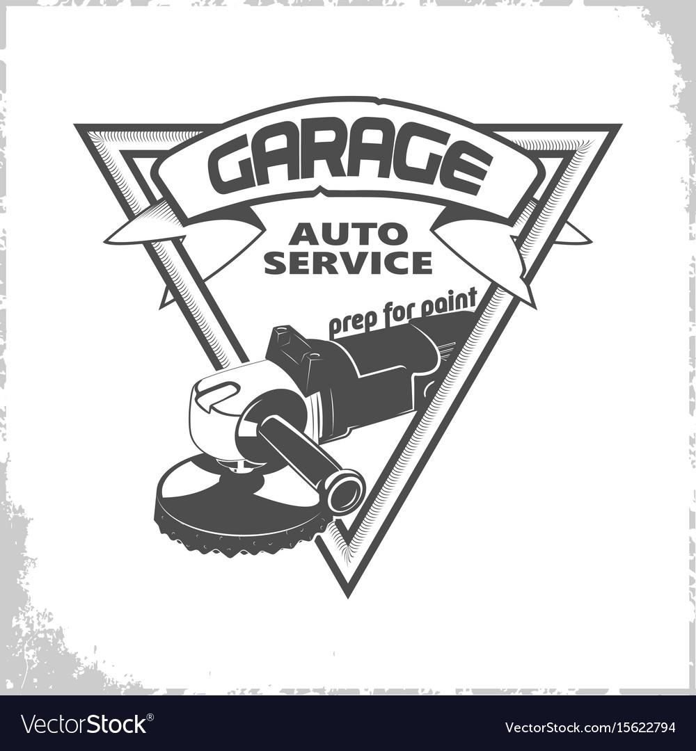 Garage grinder logo