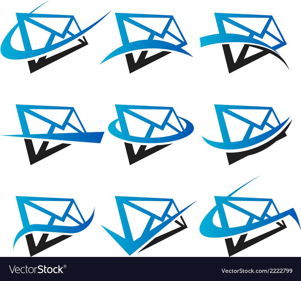 Envelope Logo Icons