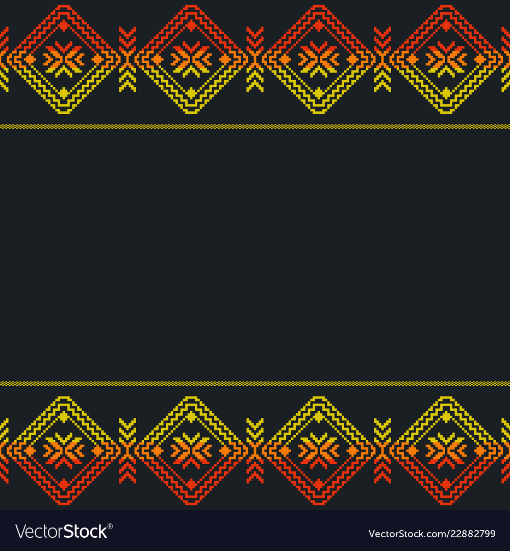 Ethnic mexican template seamless pattern aztec