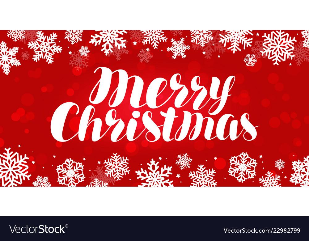 Merry christmas greeting card celebration