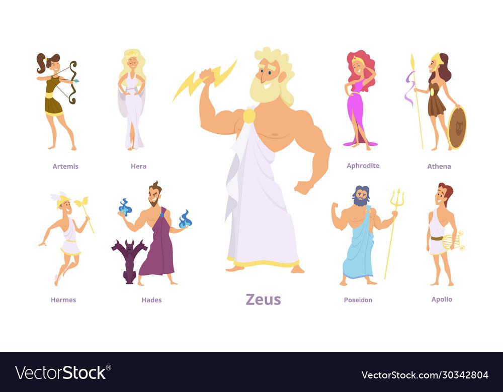 Greek gods ancient religion greece history zeus