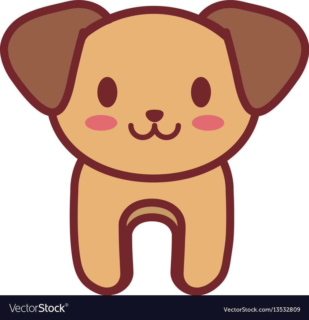 Cartoon dog animal image