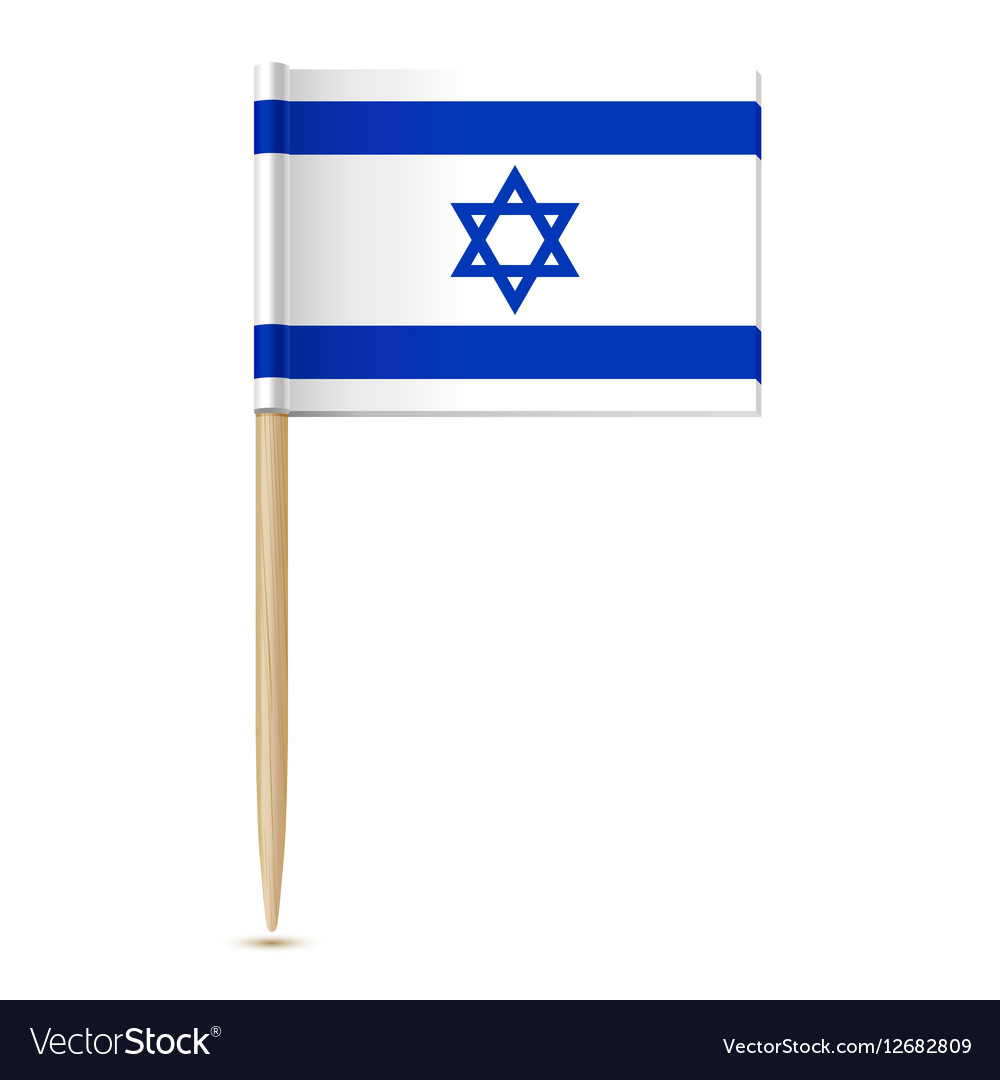 Flag of Israel Flag toothpick