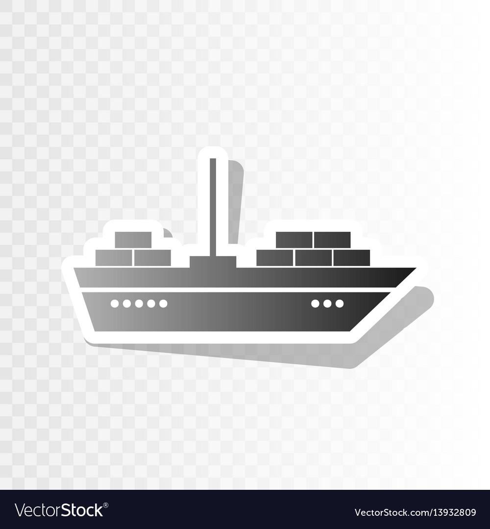 Ship sign new year blackish