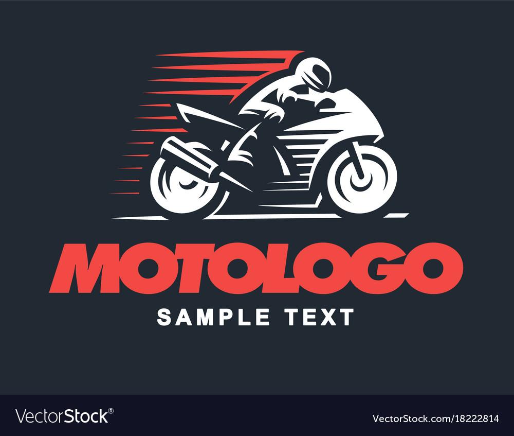 Sport motorcycle on dark background