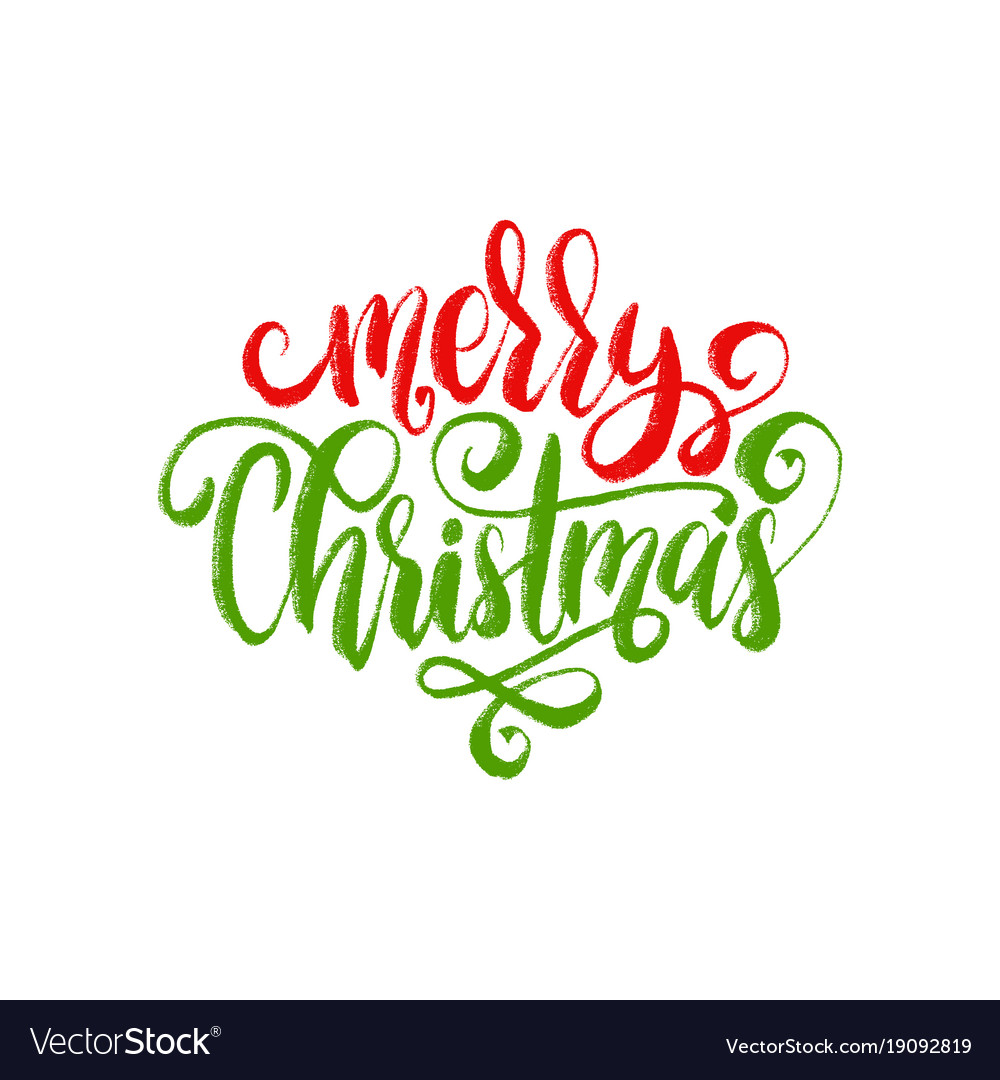 merry christmas lettering calligraphic royalty free vector merry christmas lettering calligraphic royalty free vector