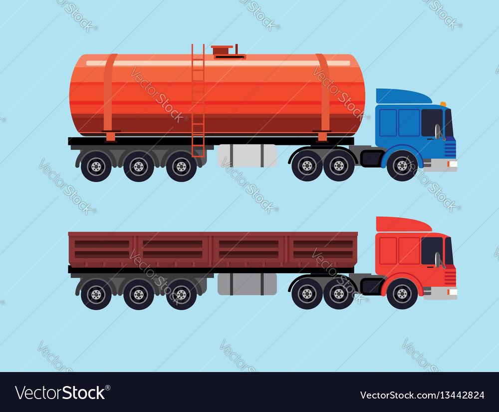 Flat of trucks