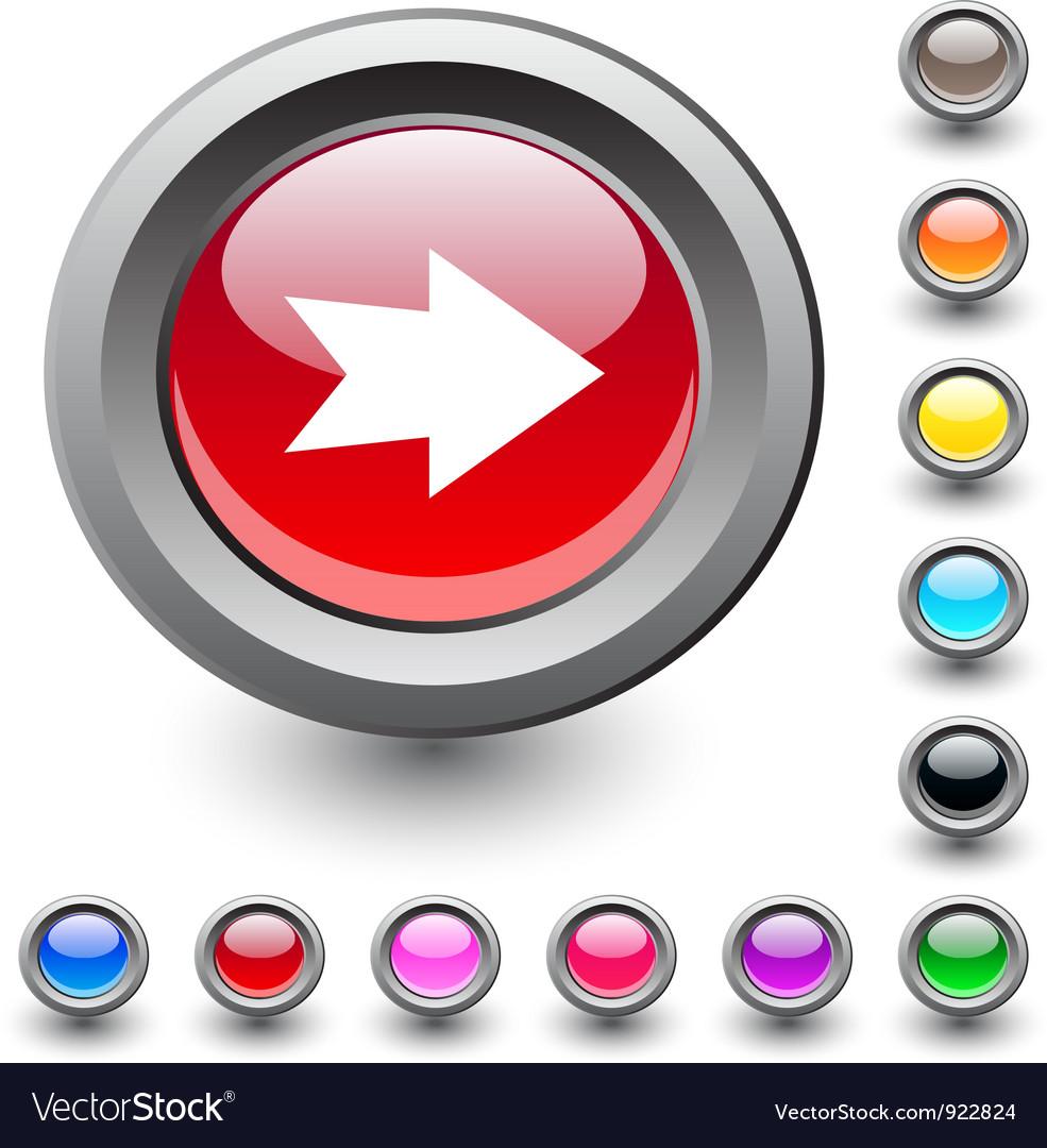 Forward arrow round button