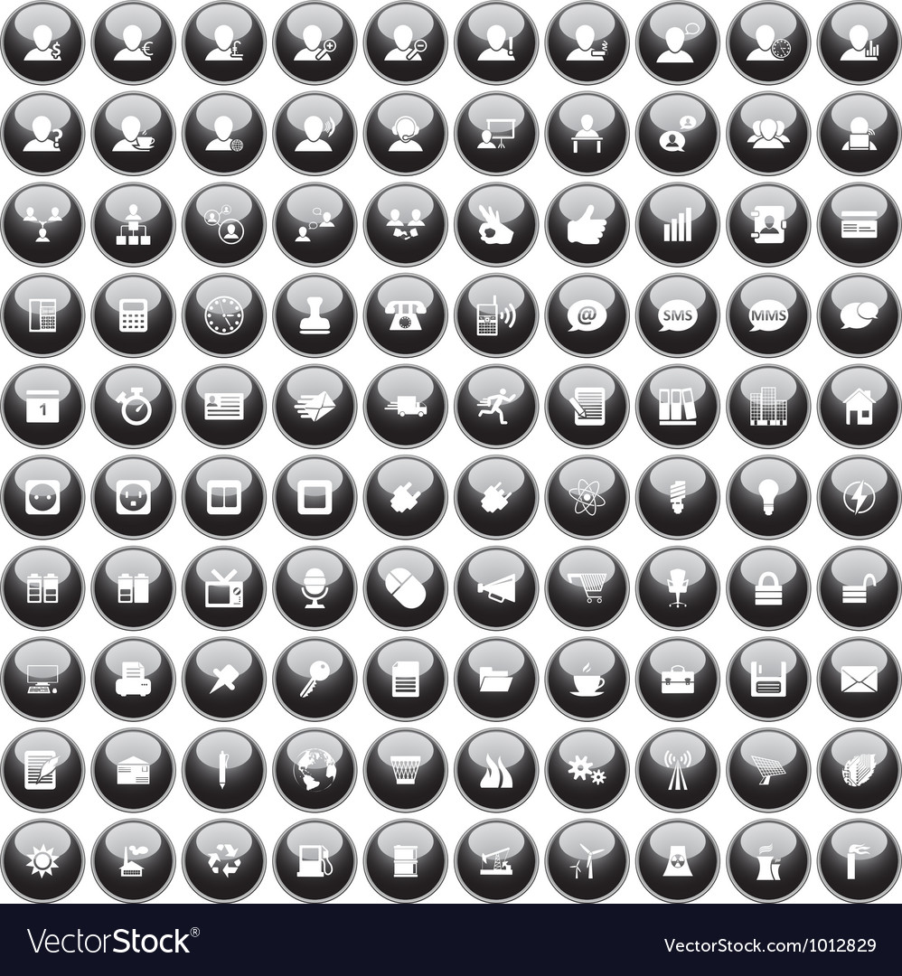 Icon set 100