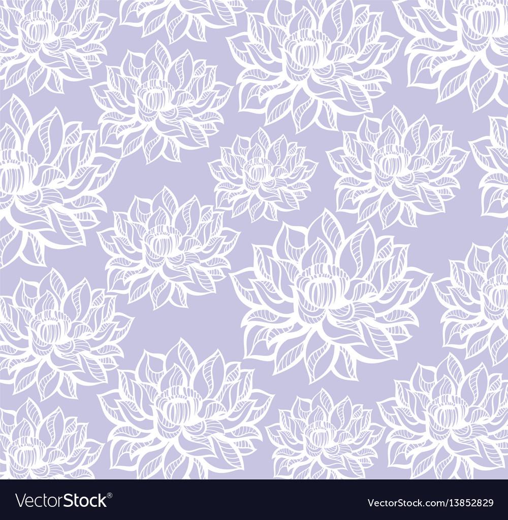 Lotus pattern background