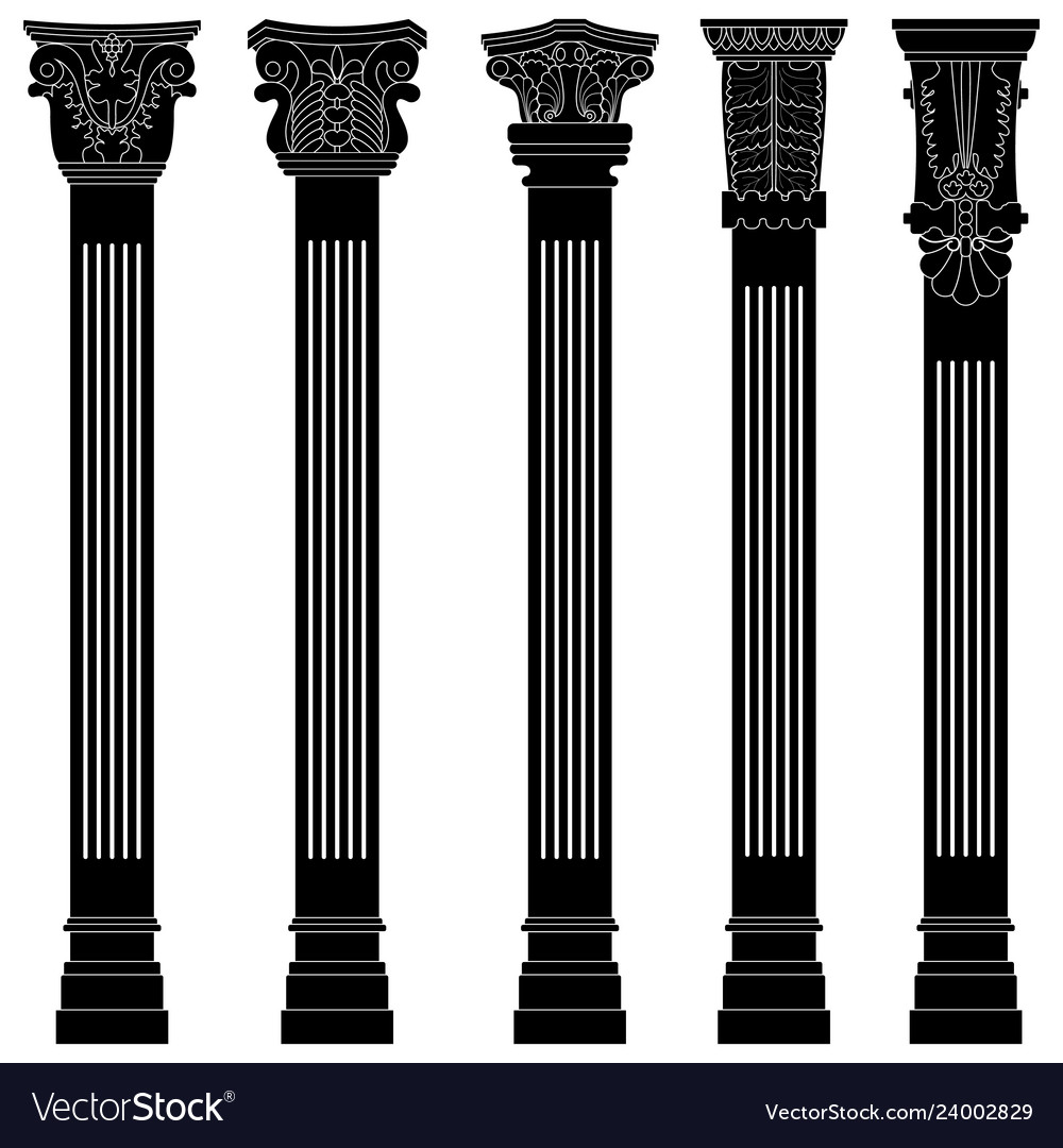 Pillar column antique ancient old roman greek