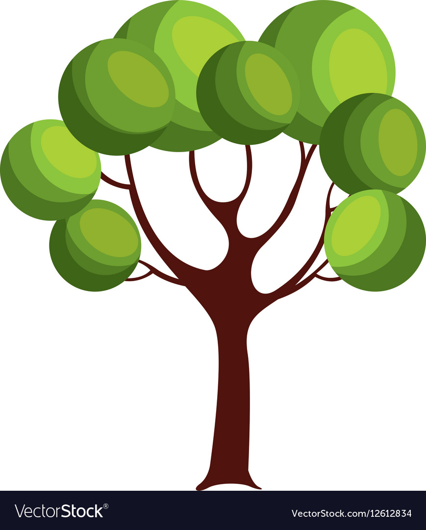 Game tree isolated icon