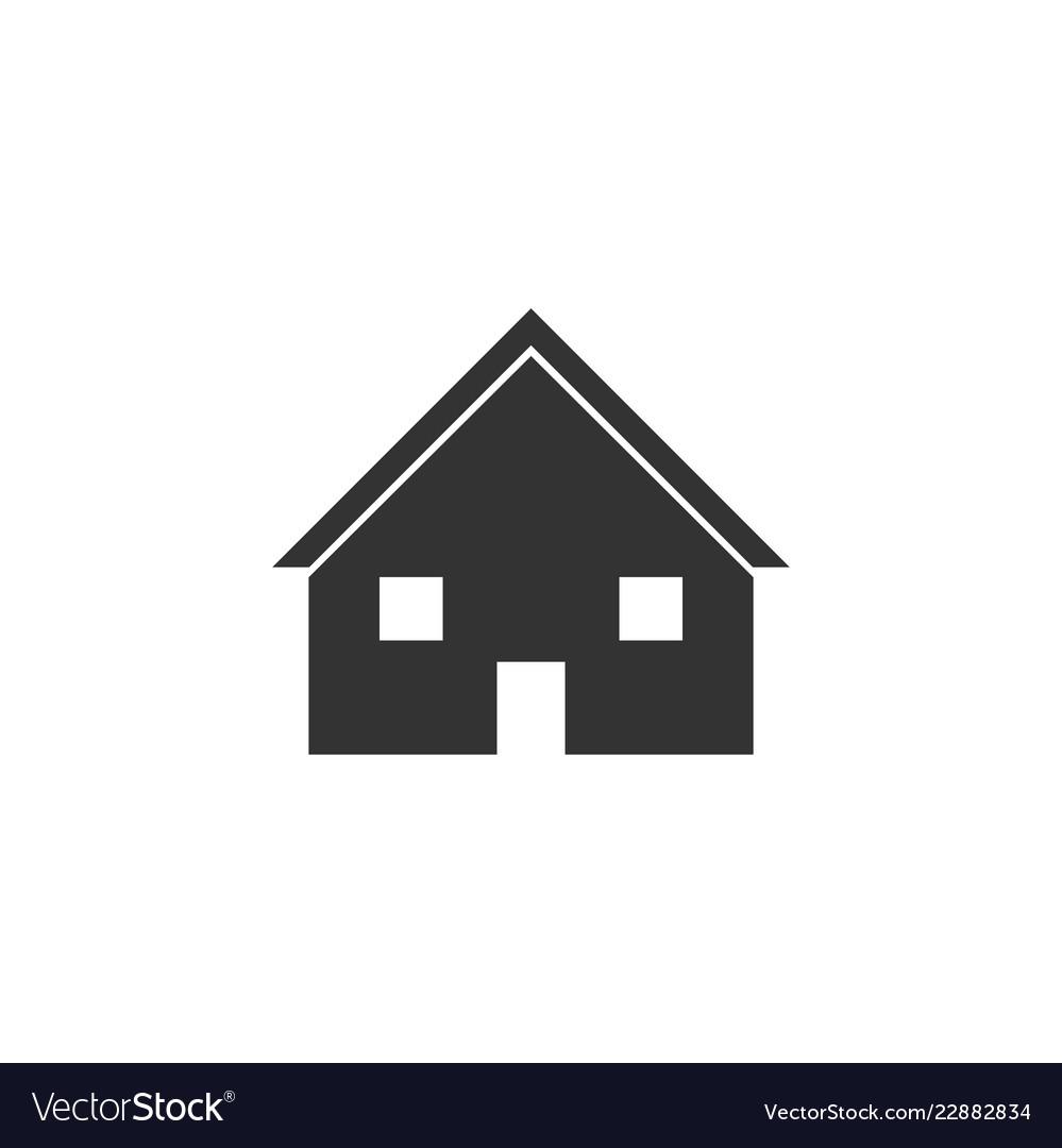House icon flat