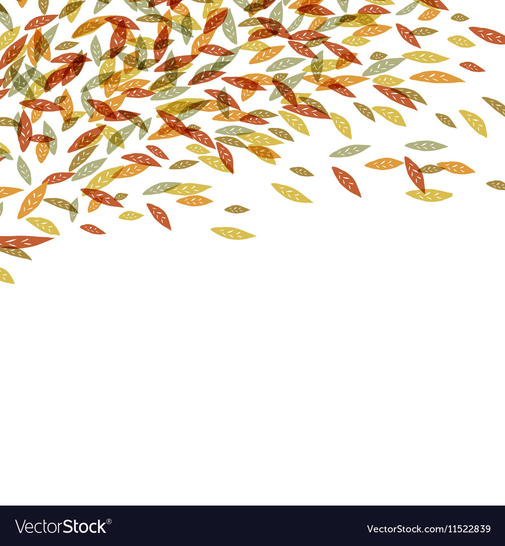 Autumn fallen leaves Autumn fall For autumn and t