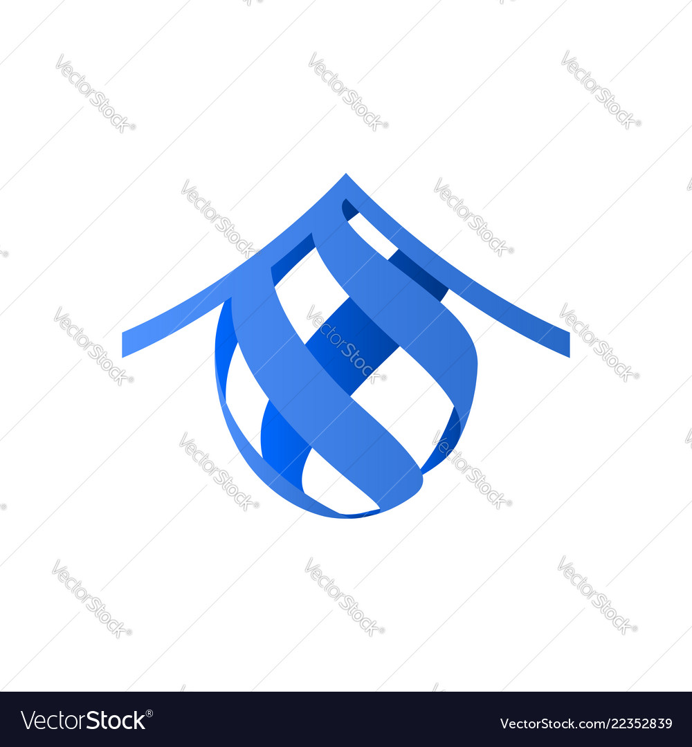 House icon ribbons icon