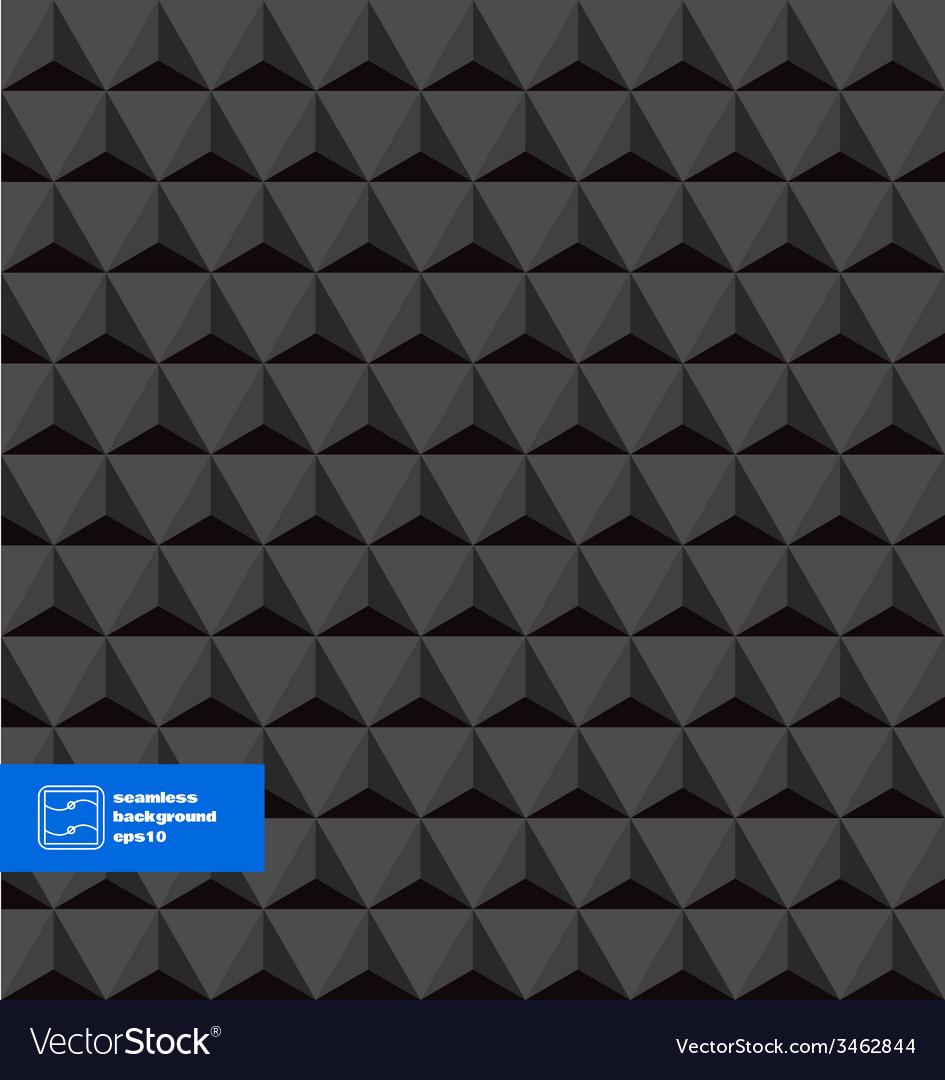 Dark seamless triangles background