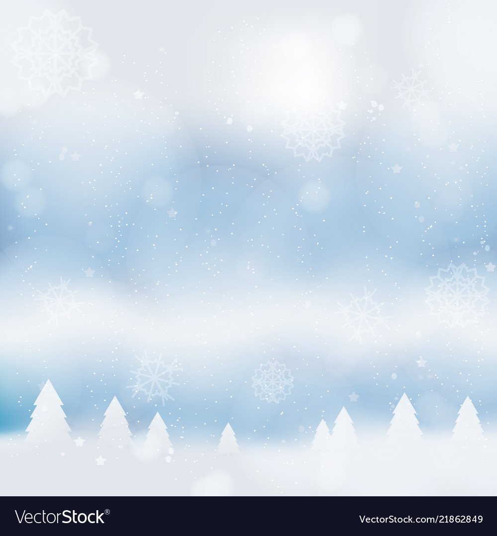 Abstract christmass winter background
