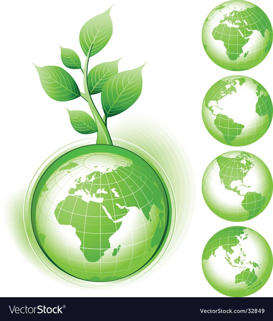 Earth Symbol Royalty Free Vector Image Vectorstock