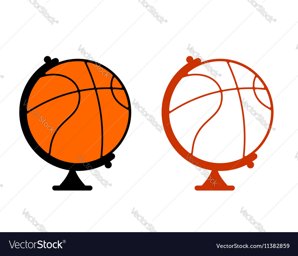 Globe basketball World game Sports accessory as
