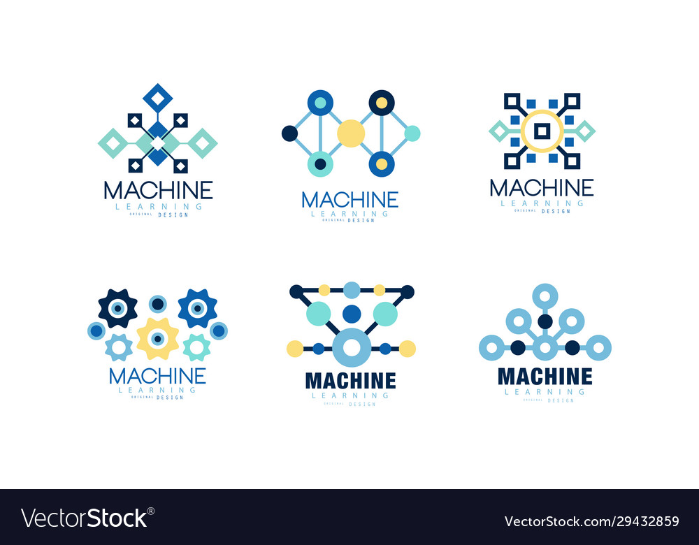 Learning machine logo design collection