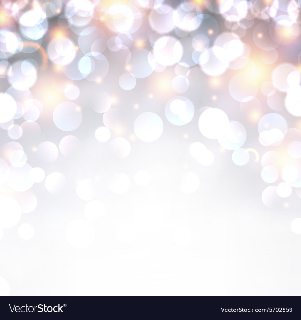 Silver shiny christmas background