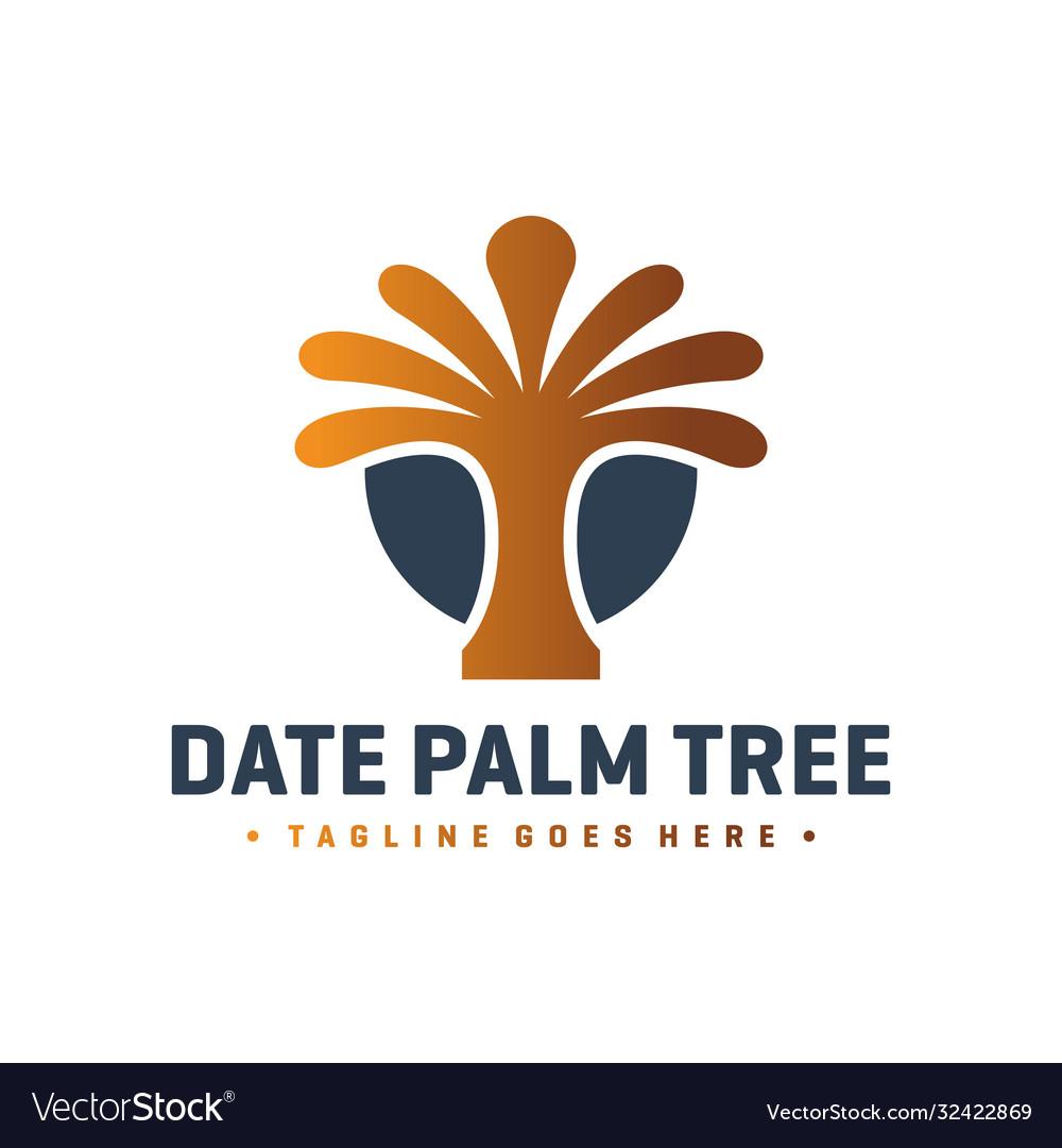 Date palm logo design