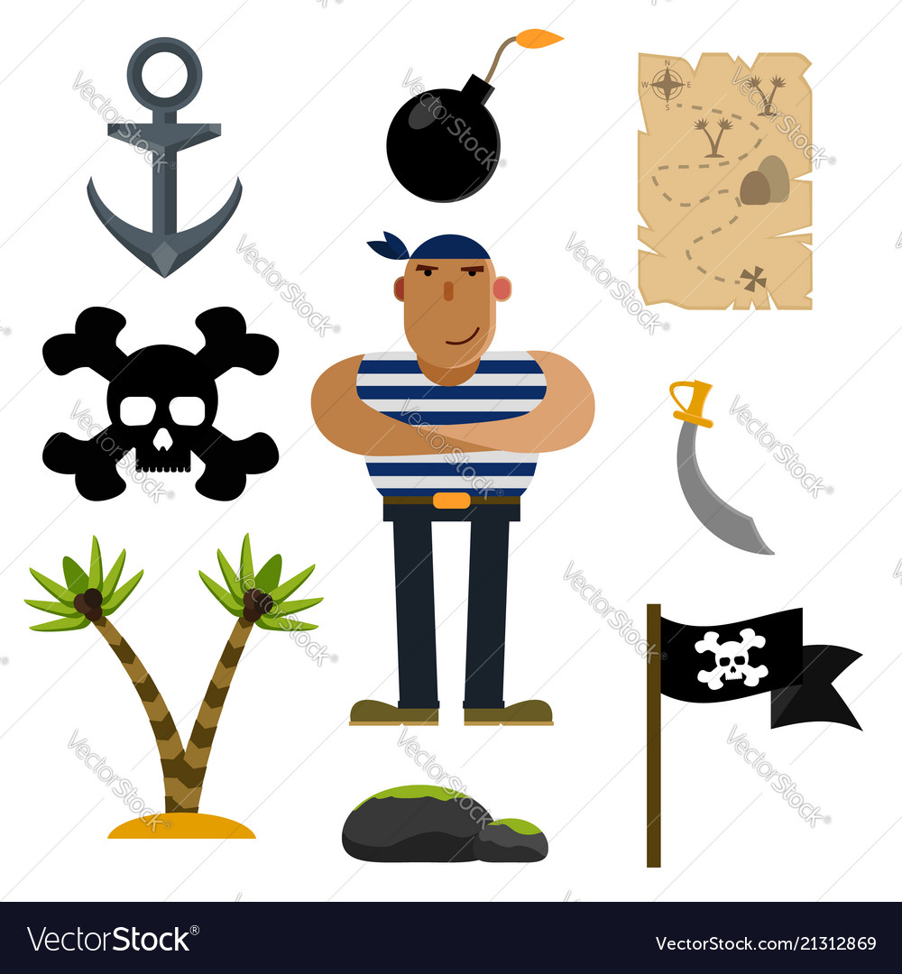 Pirate icons pirate of icon sets