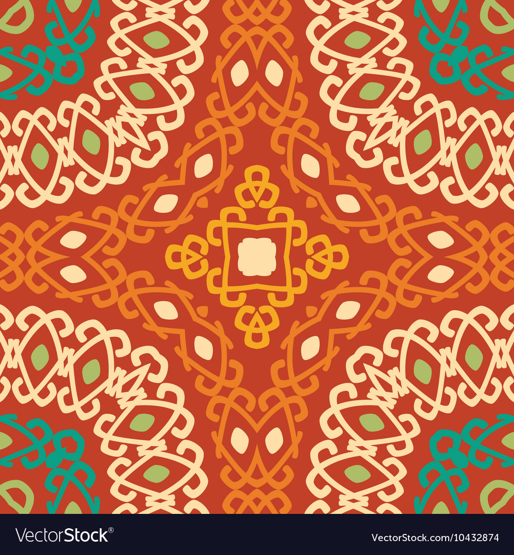 Colorful tribal ethnic seamless pattern