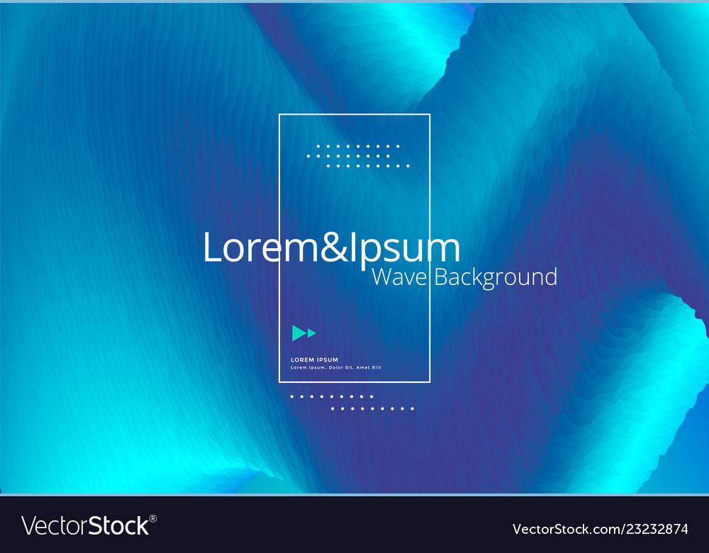 Motion blue wave background