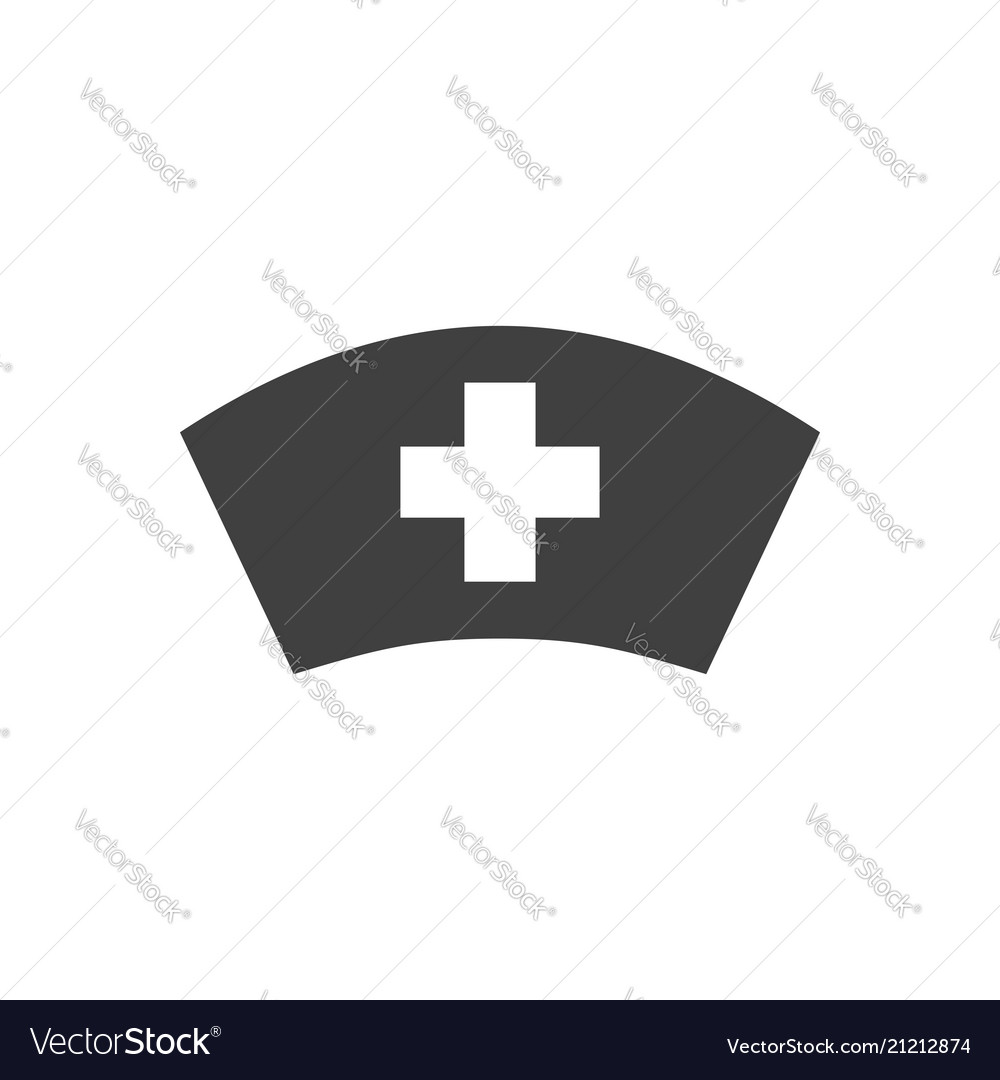 Nurse hat related icon