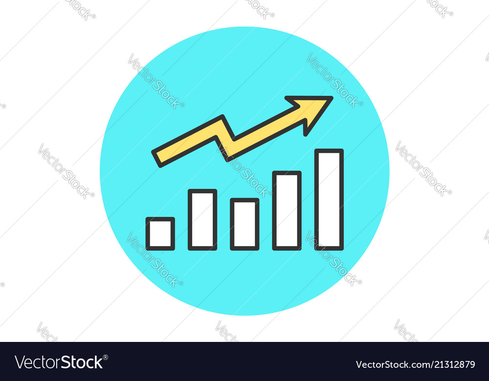Icon growth chart