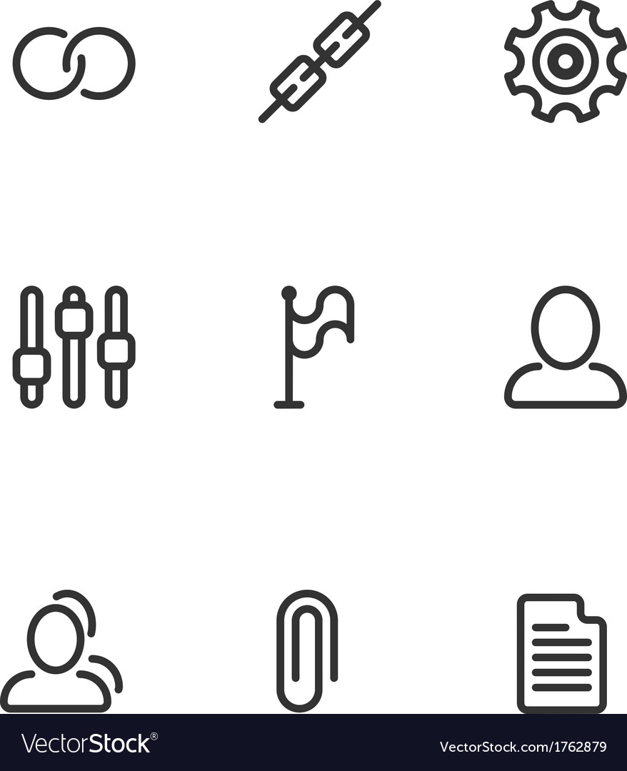 Mobile icons set 1