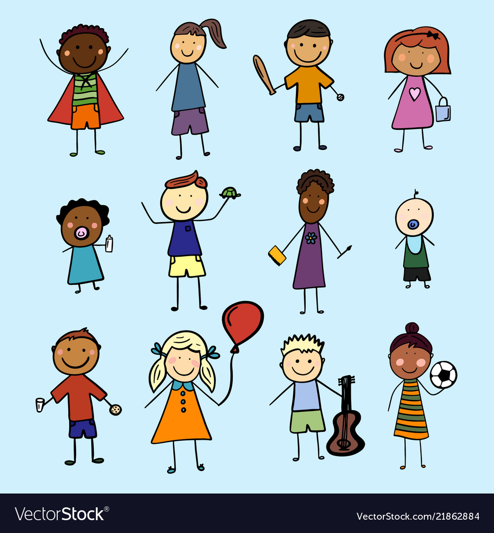 Children from all over the world