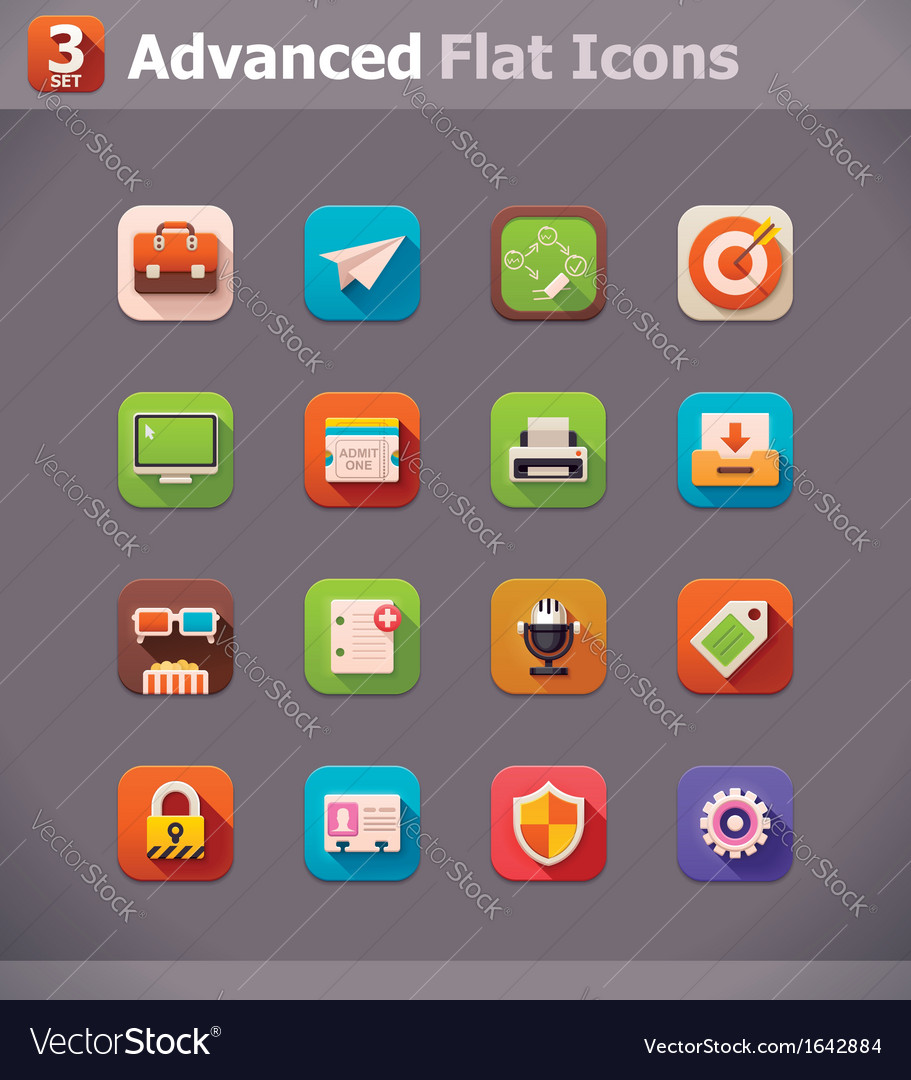 Flat UI icons
