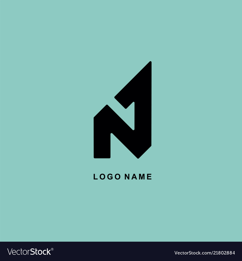 Logo design n 1 abstract